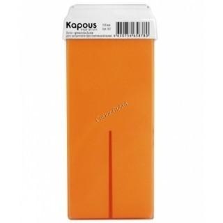 Kapous Жирорастворимый воск с ароматом дыни в картридже, 100 мл. - купить, цена со скидкой