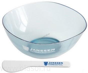 Janssen Mask bowl & spatula (Миска и шпатель для масок), 1 шт - купить, цена со скидкой