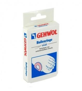 Gehwol ballenringe (Накладки кольцо, овальные), 6 шт - купить, цена со скидкой