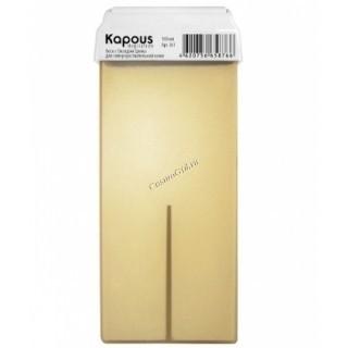 Kapous Жирорастворимый воск с оксидом цинка  в картридже, 100 мл. - купить, цена со скидкой