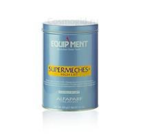Alfaparf Supermeches+ high lift powder bleach 9 levels of lift (Обесцвечивающий порошок с высоким уровнем осветления), 400 гр. - купить, цена со скидкой