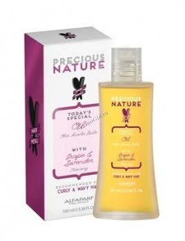 Alfaparf Curly&wavy hair oil (Масло для кудрявых и вьющихся волос), 100 мл. - купить, цена со скидкой