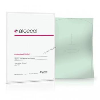 MedSkin Solutions Aloecol classik (Успокаивающая маска с алоэ вера), лист А4 - купить, цена со скидкой