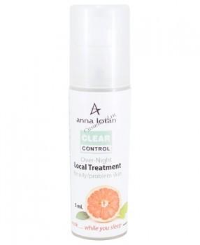 Anna Lotan Clear control over night local treatment (Клир-контроль ночная сыворотка для жирной, проблемной кожи) 5 мл - купить, цена со скидкой