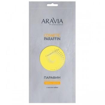 Aravia Парафин «Тропический коктейль» с маслом лайма, 500 гр. - купить, цена со скидкой
