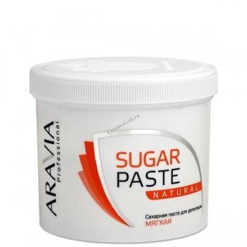 Aravia Сахарная паста мягкая «Натуральная», 750 гр. - купить, цена со скидкой
