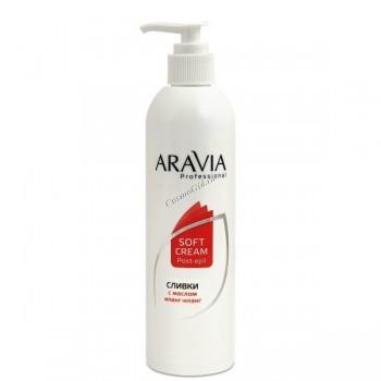 Aravia Сливки после депиляции для восстановления pH кожи, 300 или  250 мл. - купить, цена со скидкой