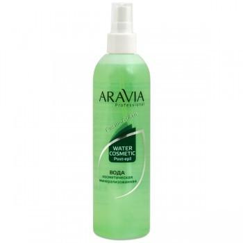 Aravia Вода косметическая минерализованная с мятой и витаминами, 300 мл. - купить, цена со скидкой