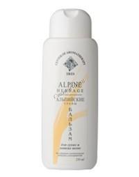 Ирис Бальзам-ополаскиватель для волос «Альпийские травы», 250 мл - купить, цена со скидкой