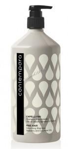 Barex Contempora shampoo volumizzante (Шампунь для придания объема с маслом облепихи и огуречным маслом), 1000 мл. - купить, цена со скидкой