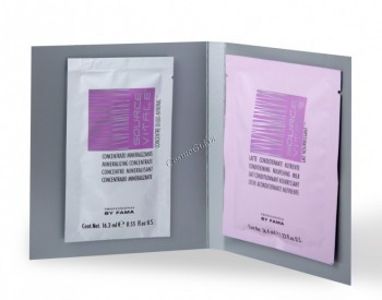 By Fama Source vitale beauty bath (Средство для восстановления волос «Волшебная баня»), 16,3 мл. + 24,6 мл. - купить, цена со скидкой