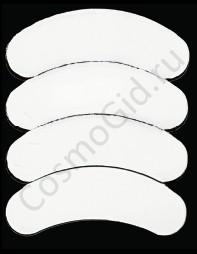 3D-LashesAnti Wrinkle Eye Gel Pads Защитный гелевый аппликатор для глаз в серебянной уп.10шт - купить, цена со скидкой