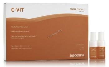 Sesderma C-Vit Reactivating serum (Реактивирующая двухфазная сыворотка), 5 шт по 7 мл. - купить, цена со скидкой