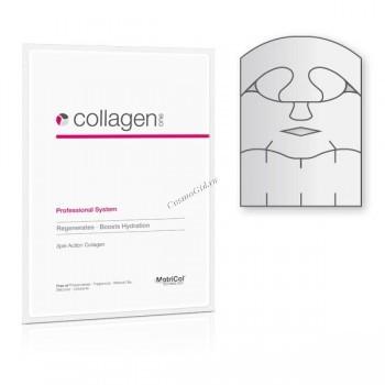 MedSkin Solutions Collagen one skin zone complete (Коллагеновая маска для лица, передней и боковых зон шеи) - купить, цена со скидкой