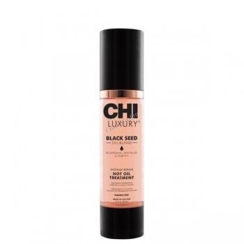 CHI Luxury Black Seed Intense Repair Hot Oil Treatment (Горячее масло для интенсивного восстановления волос), 50 мл - купить, цена со скидкой