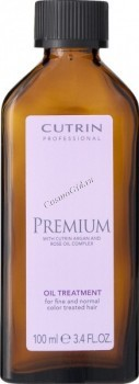 Cutrin Premium oil treatment for fine and normal color treated hair (Масло-уход для нормальных и тонких окрашенных волос), 100 мл. - купить, цена со скидкой