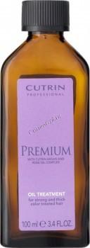 Cutrin Premium oil treatment for strong and thick color treated hair (Масло-уход для жестких и сильных окрашенных волос), 100 мл. - купить, цена со скидкой