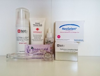 CosmoGid Программа увлажнения, осветления и витаминизации для жирной и комбинированной кожи лица, 6 препаратов. - купить, цена со скидкой