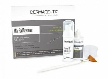 Dermaceutic Milkpeel (Набор для поверхностного пилинга), 2 препарата. - купить, цена со скидкой