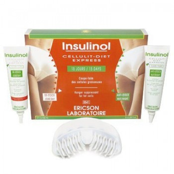 Ericson laboratoire Hunger suppressant for fat cells (Набор инсулинол), 2 шт по 100 мл - купить, цена со скидкой