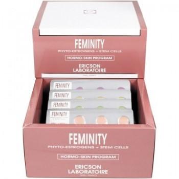 Ericson laboratoire Feminity hormo-skin program (Программа для восстановления гормонального баланса кожи), 28 шт по 1 мл - купить, цена со скидкой