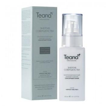 Teana / Многокомпонентный сенсорный тоник для очищения кожи и удаления макияжа / «Энергия Совершенства», 100 мл - купить, цена со скидкой