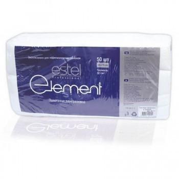Estel Element (Полотенце одноразовое 45x90 в сложении), 50 шт.  - купить, цена со скидкой