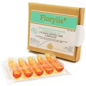 Florylis Soins anti poches (Концентрат от мешков под глазами), 5 шт по 3 мл - купить, цена со скидкой