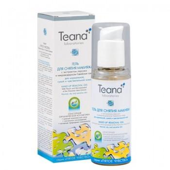 """Teana """"G1"""" Гель с экстрактом персика для снятия макияжа, 125 мл. - купить, цена со скидкой"""
