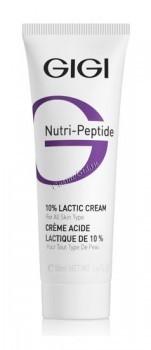 GIGI NP Lactic Cream (Крем пептидный увлажняющий с 10% молочной кислотой), 50 мл - купить, цена со скидкой