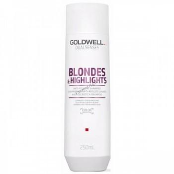 Goldwell Dualsenses Blondes & Highlights Anti-yellow shampoo (Шампунь против желтизны для осветленных волос) - купить, цена со скидкой