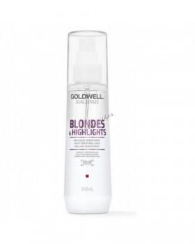 Goldwell Dualsenses Blondes & Highlights Brilliance serum spray (Сыворотка-спрей для блеска осветленных волос), 150 мл - купить, цена со скидкой