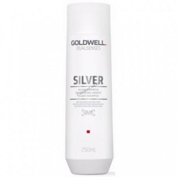 Goldwell Dualsenses Silver Shampoo (Корректирующий шампунь для седых и светлых волос), 250 мл - купить, цена со скидкой