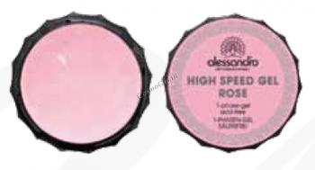 Alessandro High Speed gel clear (Гель для наращивания и моделирования ногтей, розовый), 15 г - купить, цена со скидкой