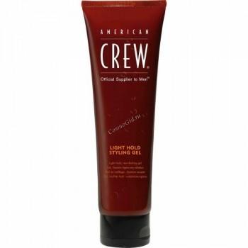 American Crew Light hold styling gel (Гель для укладки волос слабой фиксации), 250 мл. - купить, цена со скидкой