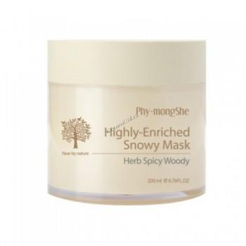 Phy-mongShe Highly-enriched snowy mask (Питательная маска), 200 мл  - купить, цена со скидкой