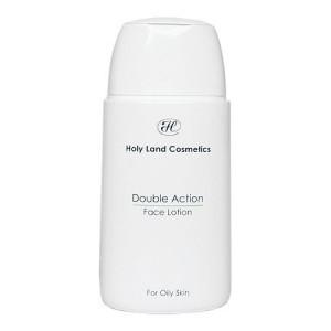 Holy Land /DOUBLE ACTION- для жирной кожи/ FACE LOTION (лосьон для лица) 100 мл - купить, цена со скидкой