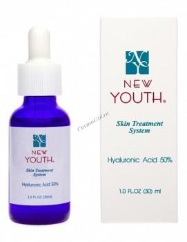 New Youth Hyaluronic acid 50% (Гиалуроновая кислота 50%), 30 мл - купить, цена со скидкой