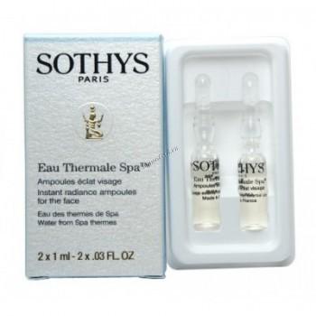 """Sothys Instant radiance facial ampoules (Сыворотка для лица """"Мгновенное сияние""""), 2 x 1 мл - купить, цена со скидкой"""