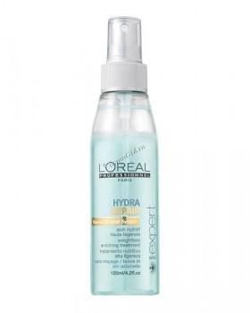 L'Oreal Professionnel Intense hydra repair spray (Увлажняющий спрей-уход Гидра репер для сухих волос), 125 мл. - купить, цена со скидкой