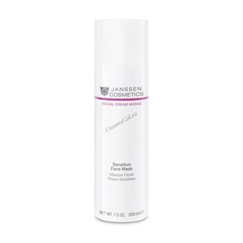 Janssen Sensitive face mask (Успокаивающая крем-маска для чувствительной кожи), 200 мл - купить, цена со скидкой