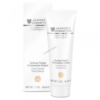 Janssen Optimal tinted complexion cream light (Дневной крем «Оптимал Комплекс», SPF 15), 200 мл - купить, цена со скидкой
