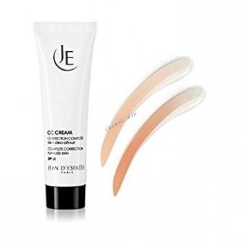 Jean d'Estrees cc Cream spf 50 (Крем-корректор с тональным эффектом), 30 мл - купить, цена со скидкой