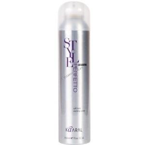 Kaaral Scultura medium hold working spray (Лак без газа для создания прически экстра сильной фиксации), 350мл. - купить, цена со скидкой