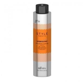 Kaaral Style perfetto Hydrogloss texturizing gel (Жидкий гель для текстурирования волос), 200 мл. - купить, цена со скидкой