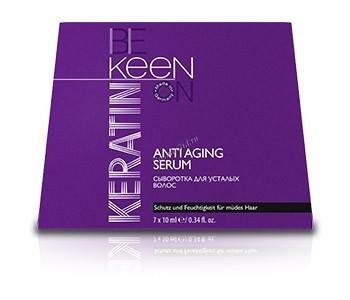 Keen Keratin AntiAging Serum («Кератиновая сыворотка для усталых волос»), 7 шт по 10 мл - купить, цена со скидкой
