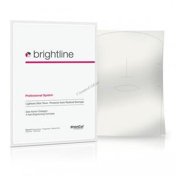 MedSkin Solutions Brightline classik (Коллагеновая маска для улучшения тона кожи), лист А4 - купить, цена со скидкой
