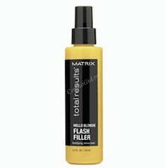 Matrix Total results hello blondie llluminator (Несмываемый спрей-вуаль для сияния светлых волос ), 125мл.  - купить, цена со скидкой