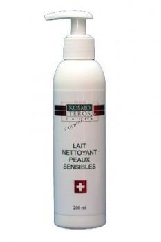 Kosmoteros forte Lait nettoyant peaux sensibles (Деликатное увлажняющее молочко), 200мл - купить, цена со скидкой