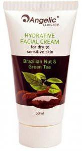 EGOMANIA Увлажняющий крем для лица для сухой и чувствительной кожи  Бразильский орех и зеленый чай 50 мл - купить, цена со скидкой